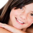 Beutiful girl smiling — Stock Photo #10753920