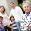 Lovely grandmother — Stock Photo