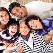 Grandmother and her family — Stock Photo #10811945