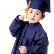 Stock Photo: Boy graduating