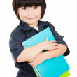 Boy ready for school — Stock Photo