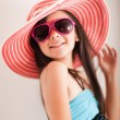 Fashion summer girl — Stock Photo
