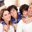 Beautiful family — Stock Photo #10812000
