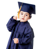Boy graduating — Stock Photo