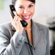 Royalty-Free Stock Photo: Businesswoman on the phone