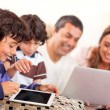 Technological family — Stock Photo #10842944