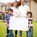 Venda de uma casa de família — Foto Stock