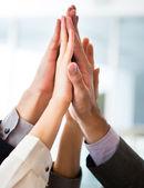 коллективная работа бизнес — Стоковое фото