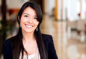 Casual affärskvinna — Stockfoto