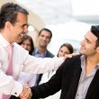 Business handshake — Stock Photo #10914816