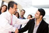 Business handshake — Foto de Stock