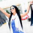 Shopping summer sales — Lizenzfreies Foto