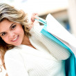 Happy woman shopping — Stock Photo #10969311