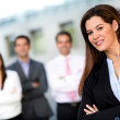 Female business leader — Stock Photo