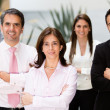 Group of business — Stock Photo