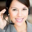 Customer support operator — Stock Photo #10969380