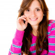 Young woman smiling — Stockfoto