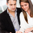Business couple — Stock Photo #10986084