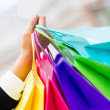 Shopping with credit card — Foto de Stock
