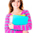Casual female student — Stock Photo