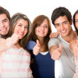 Group of with thumbs up — Stock Photo #11009054