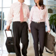 Couple on business trip — Stock Photo #11009159