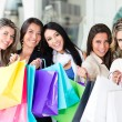 Group of shopping women — Stock Photo #11009162