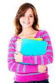 Estudiante femenina casual — Foto de Stock