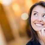 Thoughtful woman portrait — Stock Photo #11029665