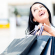 Royalty-Free Stock Photo: Happy female shopper