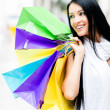 Beautiful shopping girl — Stock Photo #11029740