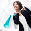 Woman on a shopping spree — Stock Photo #11029804