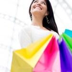 Female shopper — Stock Photo #11029828