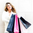 Woman with shopping bags — Stock Photo #11045614