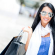 Summery girl shopping — Stock Photo #11045688