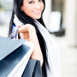 Beautiful shopping woman — Stock Photo #11045711