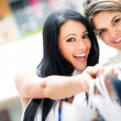 Girls out shopping — Stock Photo #11045804