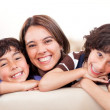 Mother with sons — Stock Photo #11045851