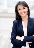 Casual business woman — Foto Stock