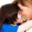 Loving mother and son — Stock Photo