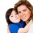 Loving mother and son — Stock Photo #11109291