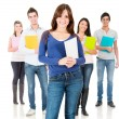 Group of students — Stock Photo #11109312