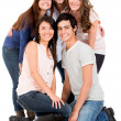 Happy group of friends — Stock Photo #11109350