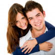 Young loving couple — Stock Photo #11109355