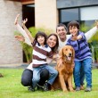 Happy family — Stockfoto #11130644