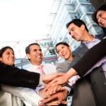 Business team bonding — Stock Photo