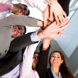 Royalty-Free Stock Photo: Business working as a team