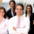 succesvolle business team — Stockfoto