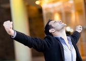 Successful businessman — Stock Photo