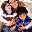 Mother and sons — Stock Photo #11251395
